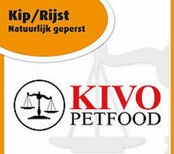 Kivo Kip&Rijst natuurlijk geperste brok  5 kg