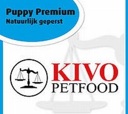Kivo Puppy natuurlijk geperste brok  5 kg
