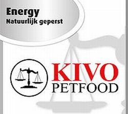 Kivo Energy natuurlijk geperste brok  15 Kg