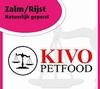 Kivo Zalm&Rijst natuurlijk geperste brok  15 Kg